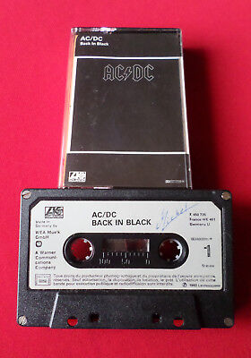AC/DC - Back In Black - MC Cassette (K 450 735 Made in Germany)