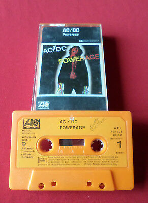 AC/DC - Powerage - MC Cassette (450 483 WE 441 Made in Germany)
