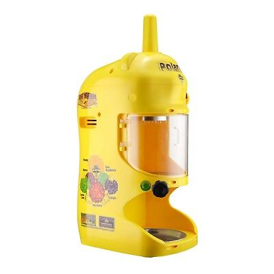 Polar Pal Yellow Commercial Shaved Ice Block Machine Shaver Snow Cone Maker