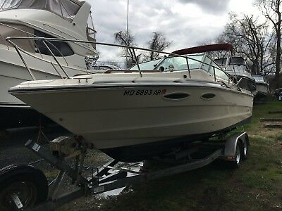 1987 Sea Ray 230 Cuddy 23' & Trailer - Maryland