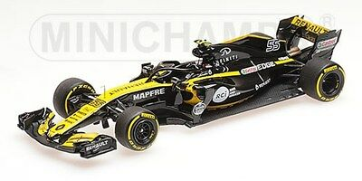 Minichamps 1:43 417189055 RENAULT SPORT FORMULA ONE TEAM CARLOS SAINZ JR. 2018