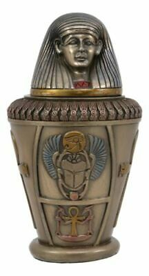 """Pacific Giftware Ancient Egyptian Imsety Canopic Jar Home Decor 5.75""""H"""