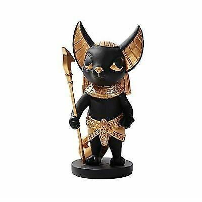 Pacific Giftware Ancient Egyptian Anubis Dog Miniature Statue Black Gold
