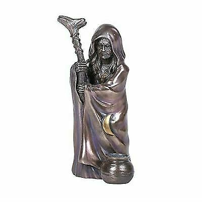 "Pacific Giftware 6.5"" Enchanted Crone Bronze Finish- Triple Goddess Collection"