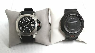"QUICKSILVER ""LUMA"" & ""YETI"" Pair of Quartz Wristwatches SPARES/REPAIRS - K06"