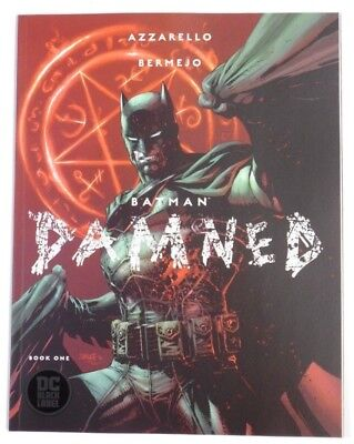 BATMAN: DAMNED # 1  First Print Jim Lee cover  UNCENSORED