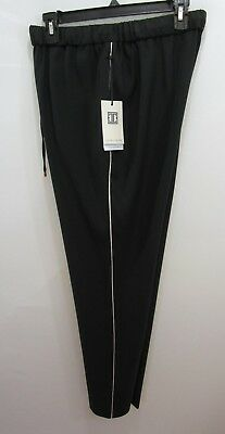 Ivanka Trump Black Stripe  Pants 6 New With Tag