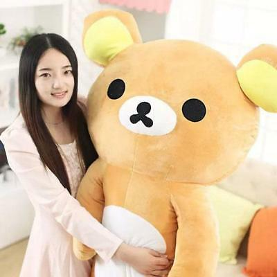 140cm San-x Rilakkuma Relax Huge Unfilled No Cotton Inner Plush Doll Toy Gift
