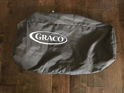 Graco Pack N Play Replacement Bag Carrying Case Travel Pack Zipper Brown NEW