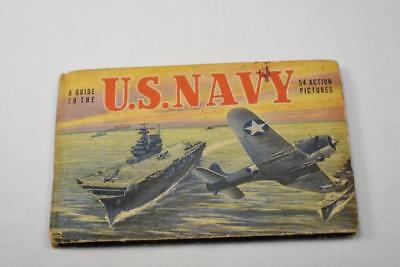 Vintage 1943 Guide to the U.S. Navy 54 Action Picture Book