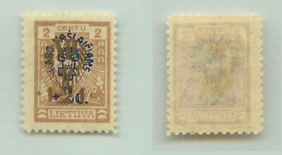 Lithuania 1926 SC B30 mint wmk 147 . rta1262