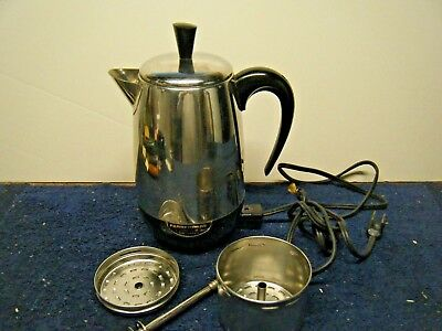Farberware Superfast 2-8 Cup Fully Automatic Percolator Coffee Pot 138B