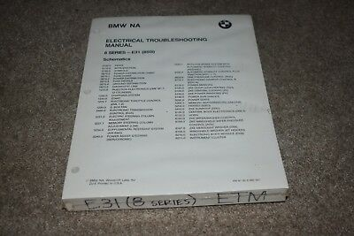 BMW 850i Electrical Troubleshooting Manual E31 NEW IN PLASTIC no binder