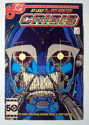 Crisis on Infinite Earths #6 Copper Age DC Comic Book 1985 FN-