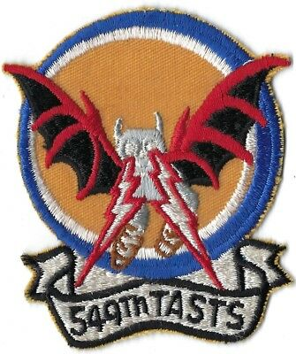 USAF 549th TACTICAL AIR SUPPORT TRAINING SQUADRON PATCH