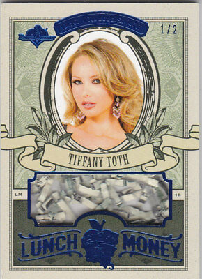 2018 Benchwarmer Hot For Teacher Tiffany Toth Lunch Money Currency Card /2