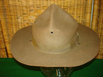 Rare Post Wwi 1920 Spec M1911 Campaign Hat