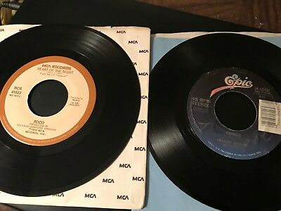 Lot of 20~45 rpm records~70's/80's Pop/R & B~VG+