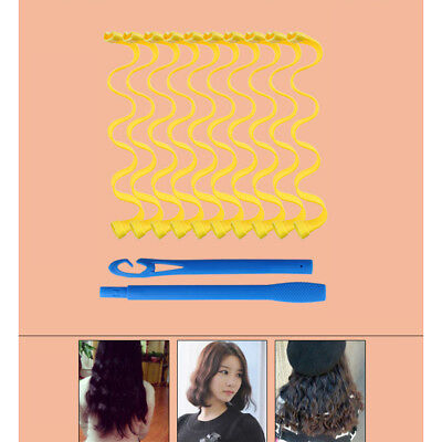 DIY Hair Salon Curlers Rollers Tool Soft Large Hairdressing Tools 10 pcs US