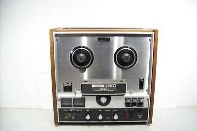 Vintage Teac A-4070 Reel To Reel Tape Deck Player Recorder Tested Working