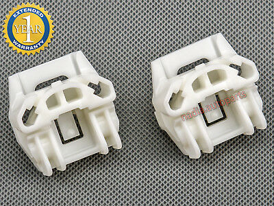 PEUGEOT 607 FRONT RIGHT DRIVER SIDE WINDOW REPAIR KIT CLIPS 1000098-99