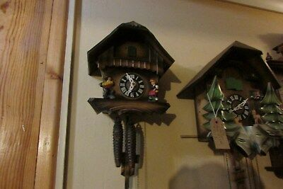 Cuckoo Clock   Black Forrest  1 yr warranty