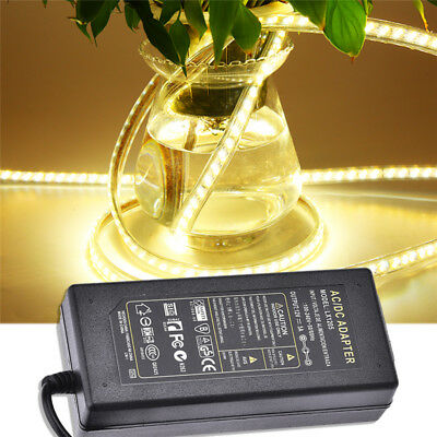 AC/DC 12V 5A Power Supply Adapter Switching Transformer For LED Lamp Strip Black