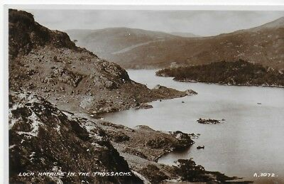 VINTAGE Postcard Real Photograph RP Loch Katrine In The Trossachs Unposted
