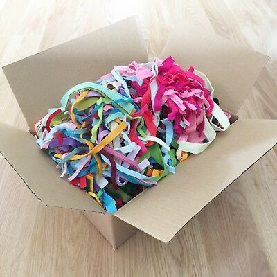 Box of Wool Blend Felt Offcuts / Strips - 850g