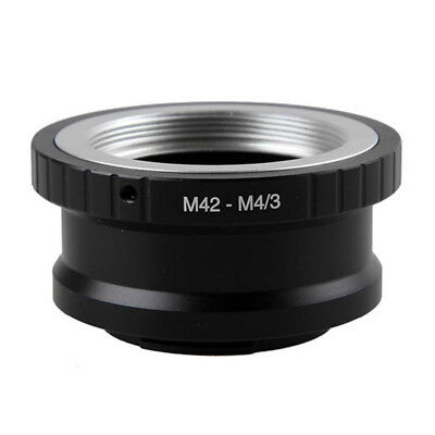 M42 Lens to Micro 4/3 M4/3 Adapter EP1 EP3 EPL1 EPL2 EPL3 G1 GF1 GH1 M42-M43 AU