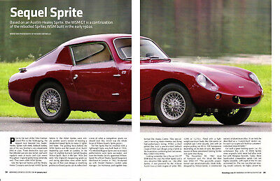 1964 Austin-Healey Sprite Wsm Gt ~ Great 6-Page Article / Ad