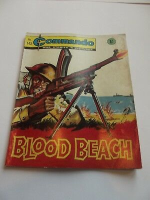 Commando Comics - No.143 - Blood Beach