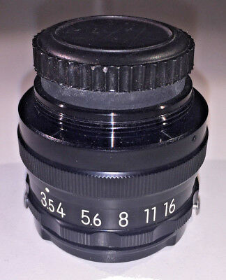 Nikon EL-Nikkor 63mm f3.5 enlarging lens, with caps - 39mm mount, 1970s