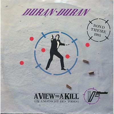 "A View To Kill - Duran Duran - James Bond 007 Theme - Single 7"" Vinyl 137/14"