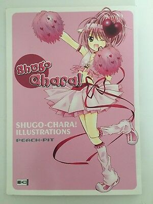Shugo Chara Artbook, Illustrations, Peach-Pit, EMA