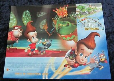 Jimmy Neutron lobby card # 7 Nickelodeon - 11 x 14 inches