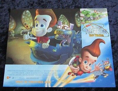 Jimmy Neutron lobby card # 4 Nickelodeon - 11 x 14 inches