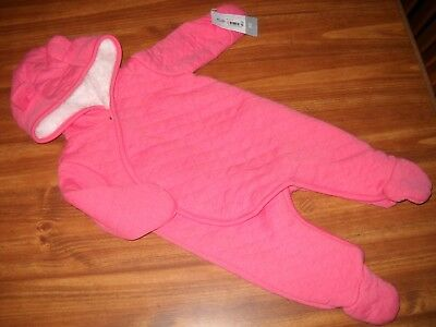 Carter's Newborn Girl Pram Suit / Outerwear, NWT!