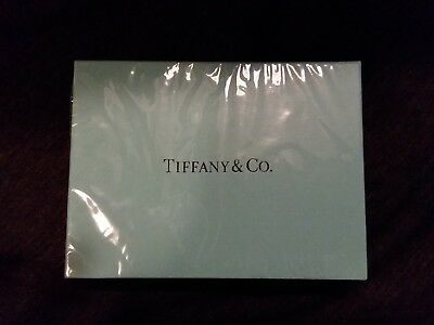 New Sealed Box Vintage Tiffany Double Deck Playing Cards Argyle Pink & Blue