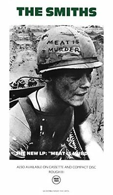 The Smiths Poster: Meat Is Murder By Morrissey And The Smiths