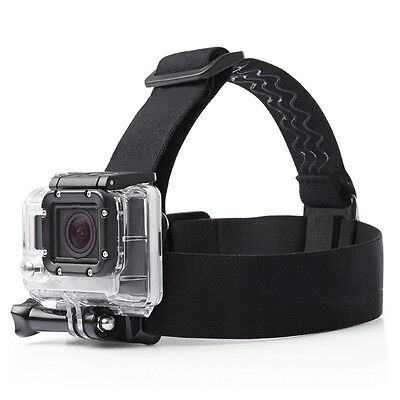 Accessories Elastic Adjustable Head Strap Mount Belt for GoPro SJCAM  Hero 5 4 3