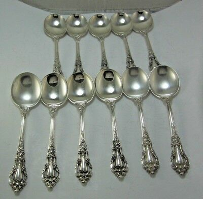 """1 Eloquence By Lunt Sterling Silver Soup Spoon (6-1/8"""") No Monogram"""