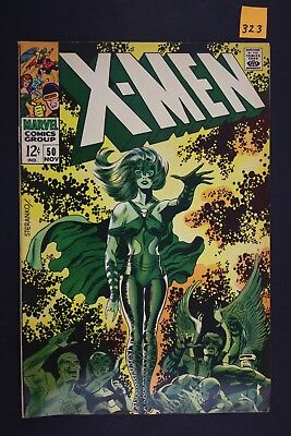 Vintage 1968 Marvel No. 50 The X-Men Comic Book 323