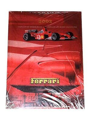 2002 FERRARI YEARBOOK - * NEW Shrinkwrapped * - 2002 F1 World Champions