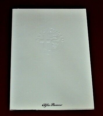 75th Anniversary 1910-1985 ALFA ROMEO factory booklet - 44 pages - English