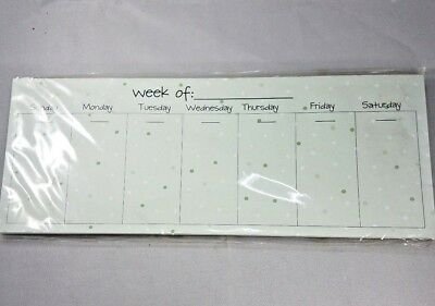 Green Weekly Task Pad To Do List Schedule Planner Weekly Organizer