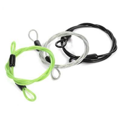 UK 1M Bicycle Bike Loop Cable Lock Heavy Duty Security Safety Wire For Luggage