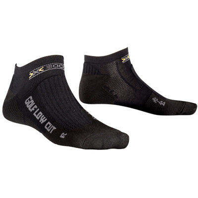 X-Socks Golfsocken Sportsocken Funktionssocken Low Cut X0T0126 B000 schwarz