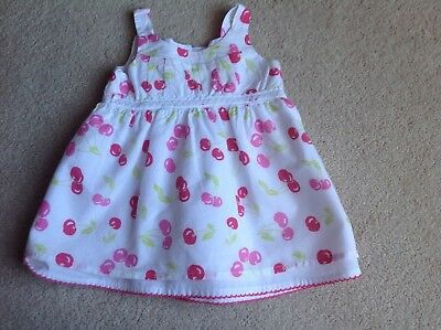 M&Co Baby's Lovely Lined Dress Age 3-6 Months