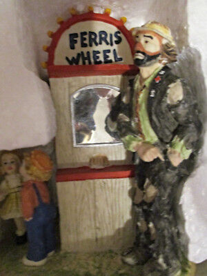 Emmett Kelly Day at the Fair You Go First Clown Figurine New in Box with COA